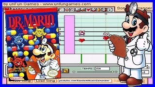 Fever Theme - Dr. Mario [Mario Paint Composer ♫ Advanced Mario Sequencer]