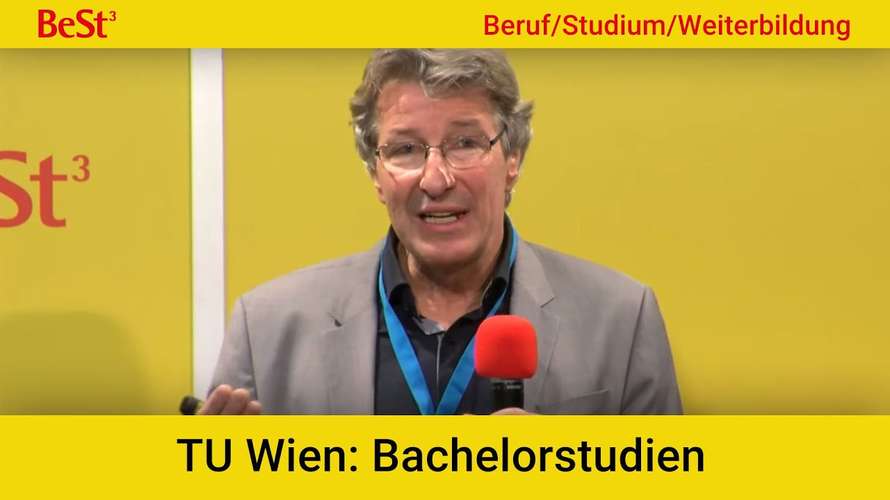 Best³ Messe Wien 2019 Bachelorstudien An Der Tu Wien Youtube