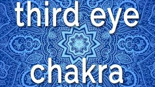 Sleep Chakra Meditation Music | Open Third Eye Chakra - Healing Sleep Music | Calm Deep Sleep Music