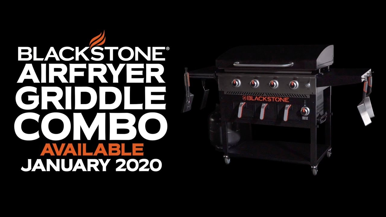 Introducing The Blackstone Airfryer Griddle Combo Blackstone