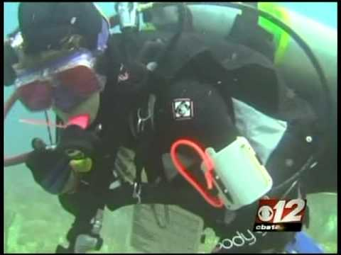CBS12 News: OCEAN REHAB DIVERS SURVEY FLORIDA REEFS FOR SCIENTIFIC BASELINE DATA