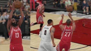 NBA 2K16 PS4 My Career - Excessive Lobs!