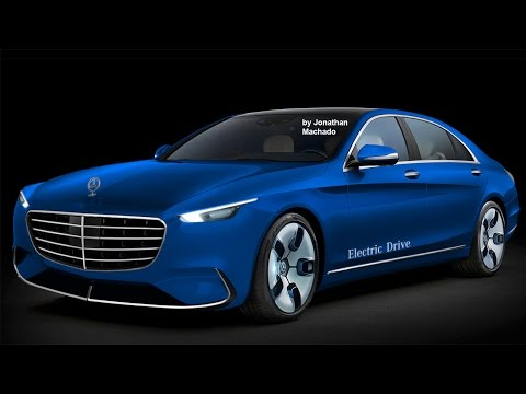 MAKING OF 2018 Mercedes-Benz S-CLass EV Electric Vehicle #ME