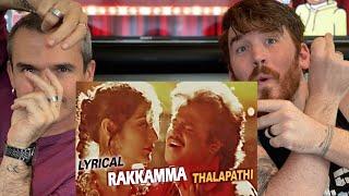 Adi Rakkamma Kaiya song - Thalapathi   Rajinikanth, Mammutti REACTION!!