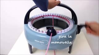 Sciarpe, cappelli in 10 minuti!Tutorial Uso del Mulinetto per maglia Maxi Prym