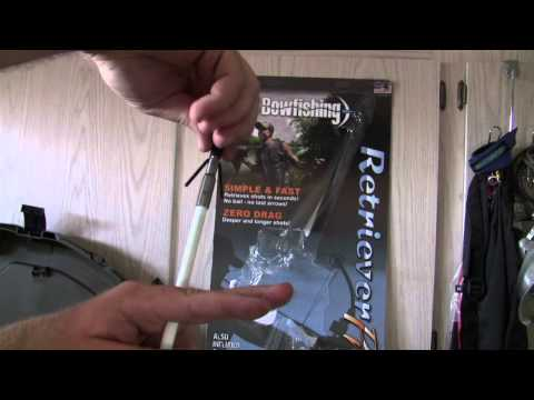AMS Bowfishing Arrows And Tips And How They Work.