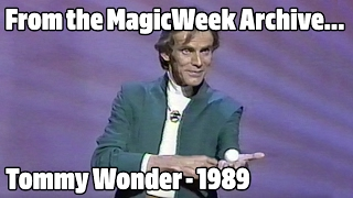 Tommy Wonder - Magician - The Best of Magic - 1989
