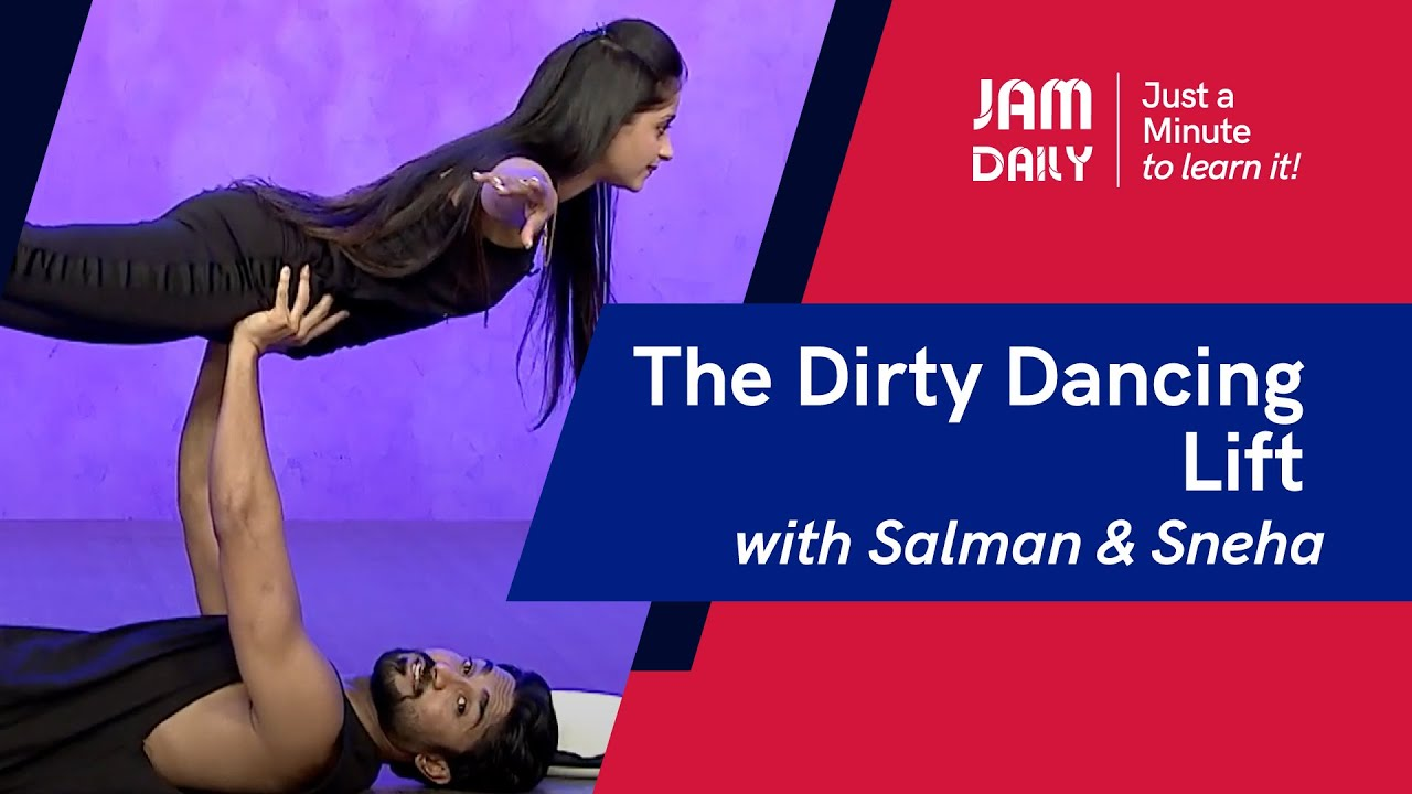 JAM Daily #106 | Just A Minute To Learn 'The Dirty Dancing Lift-Lifts & Tricks' | Dance With Madhuri