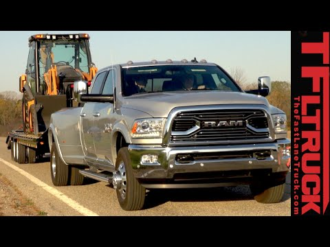 """2016 Ram 3500 Dually Review: Towing 30,000 Pounds with """"Only"""" 900 lb-ft Torque"""