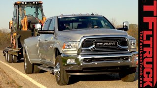 "2016 Ram 3500 Dually Review: Towing 30,000 Pounds with ""Only"" 900 lb-ft Torque"