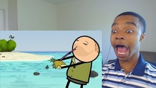 Ted Bear - Cyanide & Happiness Shorts REACTION!
