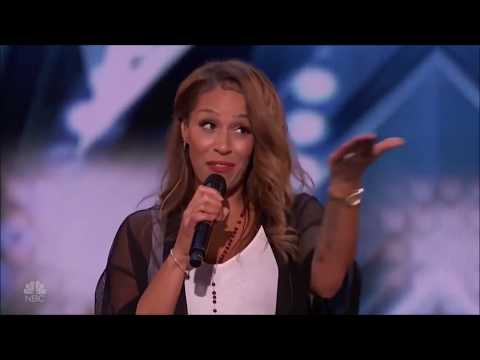 Glennis Grace - Americas Got Talent 2018 - Run To You - Tribute To Whitney Houston - Full Audition