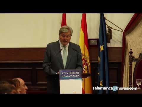 Discurso del Ministro de Educación en la apertura del curso universitario en Salamanca