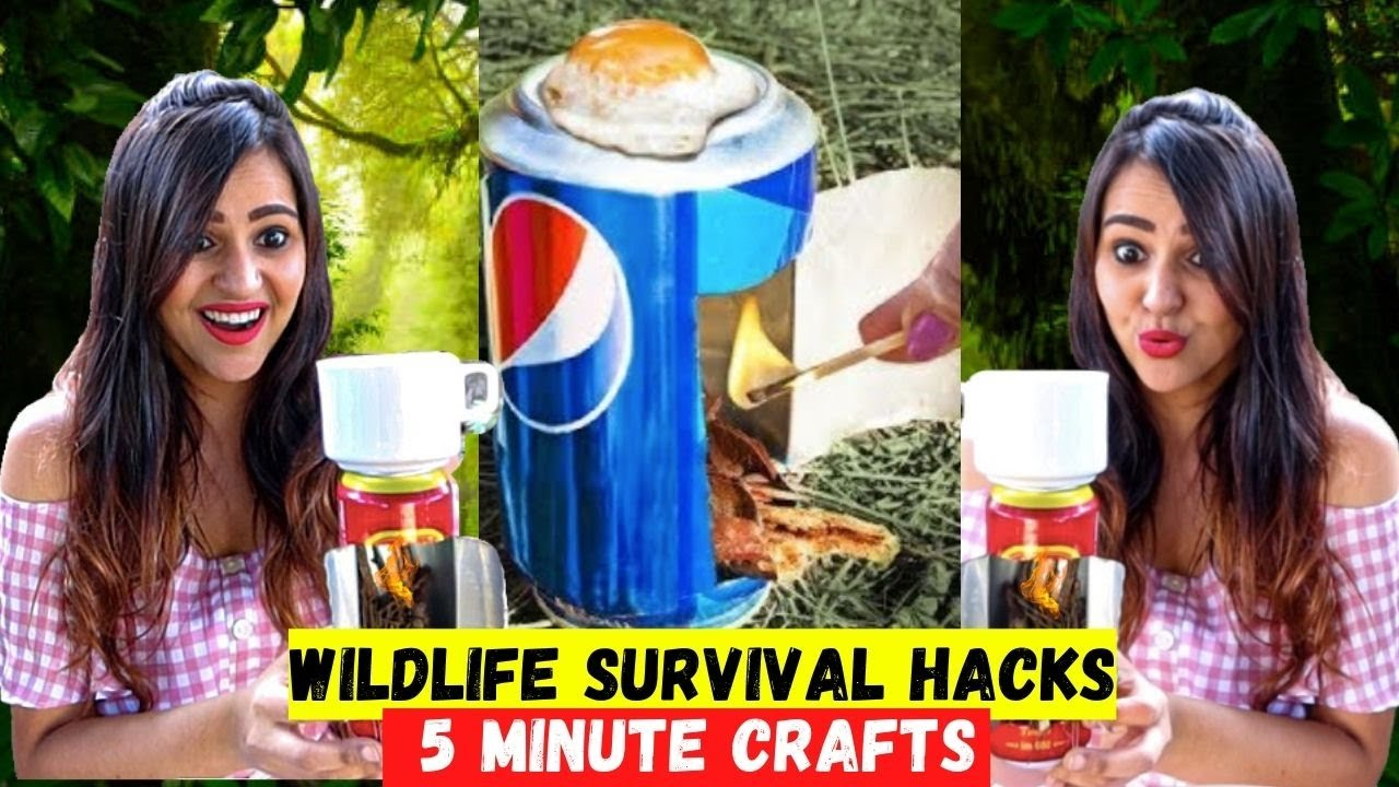 Trying Dumb WILDLIFE HACKS by 5 MINUTE CRAFTS
