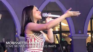 "Morissette Amon ""Love Moves In Mysterious Ways"""