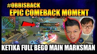 Download Video EPIC COMEBACK RAHMAD MANIAC WITH FULL OBB - Mobile Legend Bang Bang MP3 3GP MP4