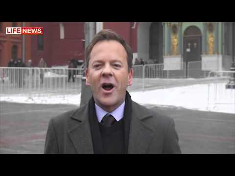kiefer sutherland in Russia 12/ 3/ 2012 Promo Touch