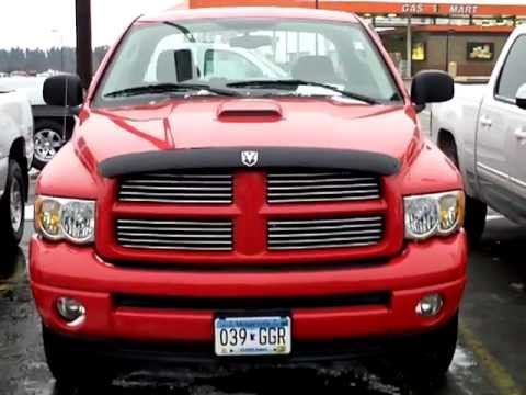 2004 dodge ram 1500 5 7l hemi slt 4x4 youtube. Black Bedroom Furniture Sets. Home Design Ideas