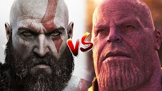 Kratos vs Thanos God Of War vs Marvel