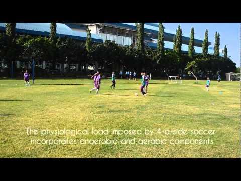 Ball Possession Drill with 4 v 4 Stop Gol  -Diklat Terang Bangsa- (Coach IFAT)