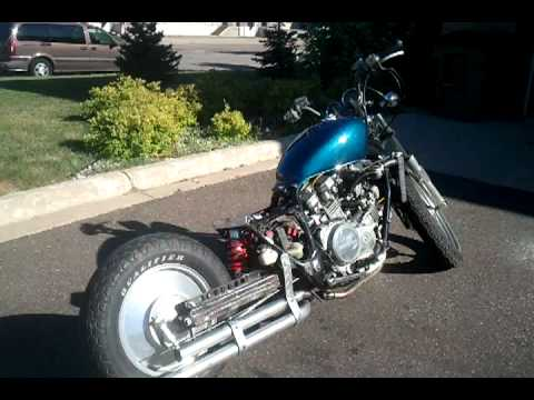 V45 Super Magna Bobber Chopper Shaft 5 Stretch Mono Shock