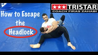 How to Fight Wrestling with Jiu-Jitsu: Headlock Escape with Coach Firas Zahabi.