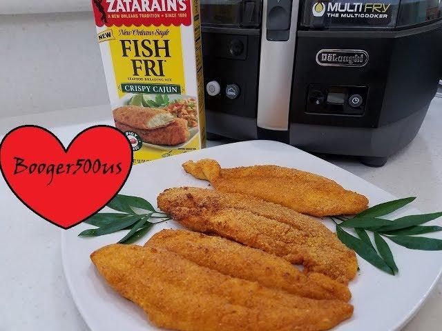 FRIED FISH ZATARAINS FISH FRY CRISPY CAJUN  AIR FRYER