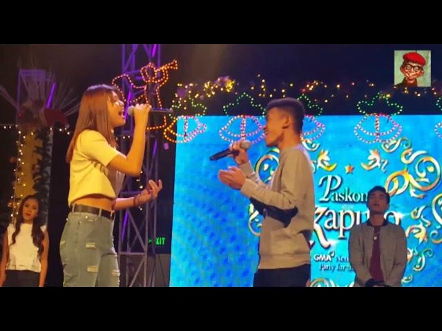 Studio 7 singers nag-perform sa GMA-7 Christmas Party for the Press 2018