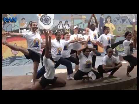 Yoga gaining grounds in Nigeria