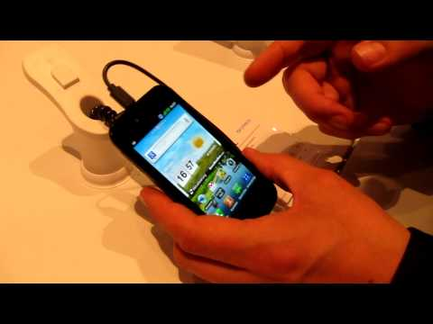 LG Optimus Sol - Hands-On - IFA2011 - androidnext.de