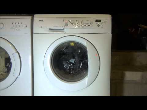 Zanussi Progress Jet System ZWF1437 : cotton daily 40'c (complete cycle)