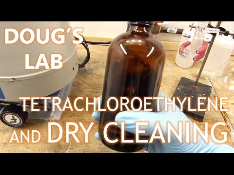 Tetrachloroethylene and Dry Cleaning