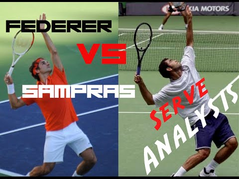 Federer vs Sampras Serve Analysis | Pro Technique | Top Tennis Training