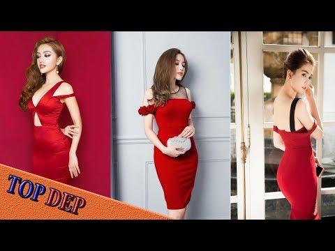 Những Mẫu Váy đầm ôm Body Trễ Vai Tuyệt đẹp Nhất Năm 2017
