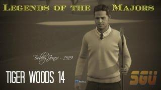 Tiger Woods 14 Gameplay: Legends of the Majors -Bobby Jones 1919 U.S. Amateur Championship Challenge