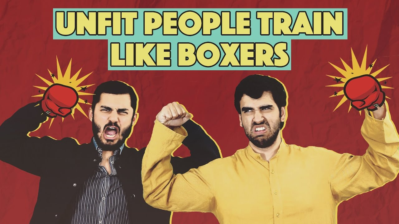 Unfit Pakistanis Train Like Boxers (Amir Khan) | MangoBaaz