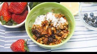 Гранола с йогуртом | Кто готовит — тот не моет