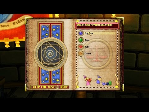 Does the Wizard101 School Test Depend on the Last Question??