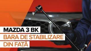 Cum schimbare Bieleta bara stabilizatoare MAZDA 3 (BK) - tutoriale video