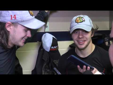 Panarin on playing with Teuvo