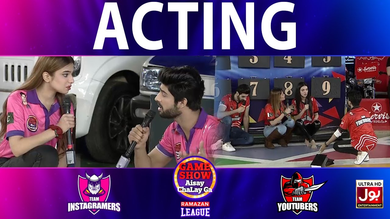 Download Acting   Game Show Aisay Chalay Ga Ramazan League   Grand Finale   Instagramers Vs Youtubers