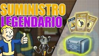 "¡SUMINISTRO ""LEGENDARIO""! - Abriendo Cajas de Fallout Shelter #3 - Dhano"
