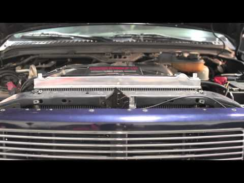 How To Install: Mishimoto 2003-2007 Ford Powerstroke 6.0L Performance Radiator