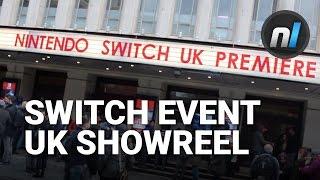 Nintendo Switch UK Premiere Event Showreel