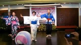 seni tari (universitas pendidikan indonesia)BON ODORI Tokyo Ondo versi indonesia
