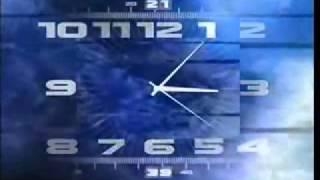 Часы Первого Канала(2000 - 2011) вечерняя версия
