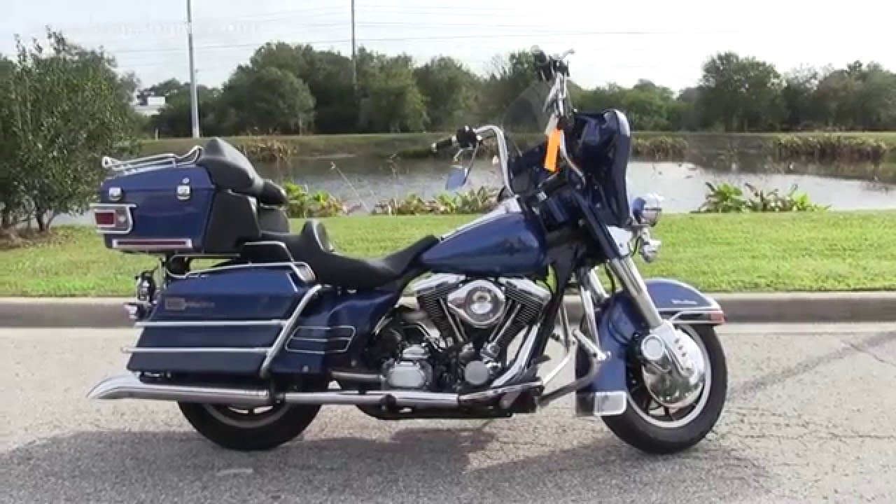 Used 1990 Harley Davidson Flhtcu Ultra Classic Youtube