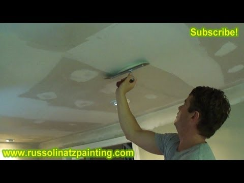 Fixing A Bad Tape Job Part 4 Drywall Repair Amp Wall