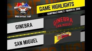 PBA Philippine Cup 2018 Highlights: San Miguel vs Ginebra Mar. 13, 2018