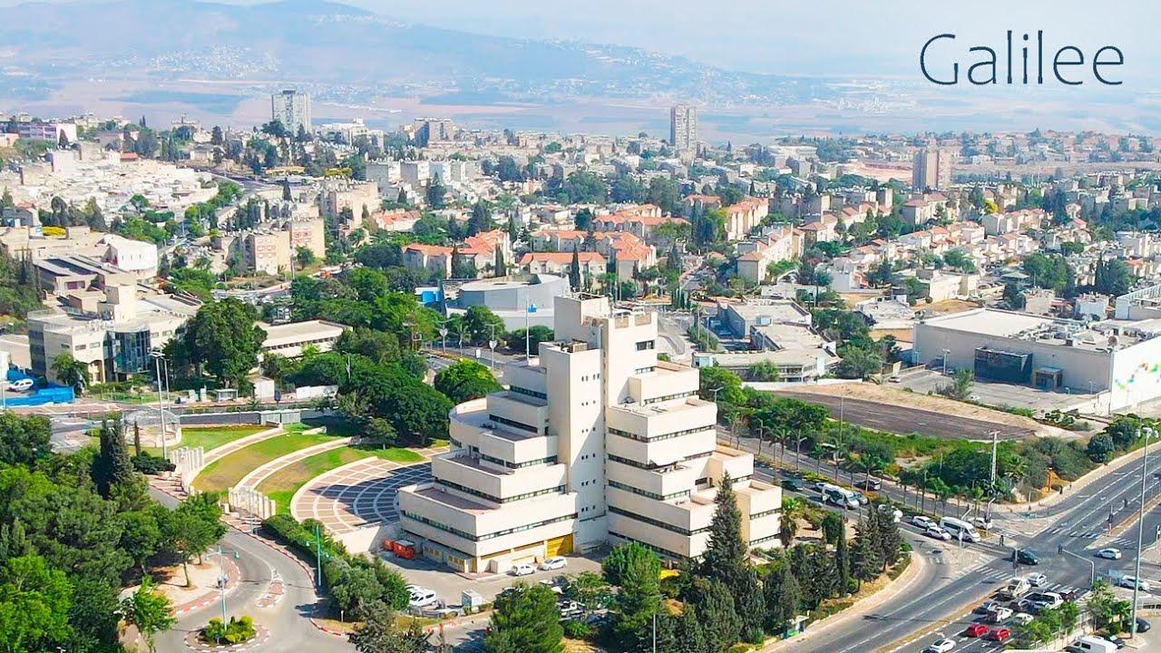 ISRAEL, GALILEE. The City of Nof HaGalil